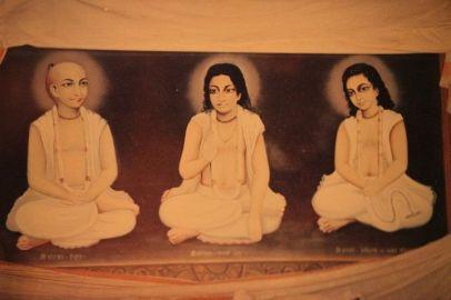 Narottam, Shrinivas, Shyamananda prabhu